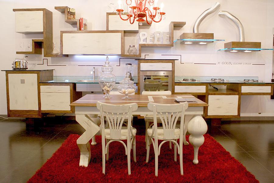 Cucine mobili su misura a firenze lapi arredamenti - Cucine in linea moderne ...