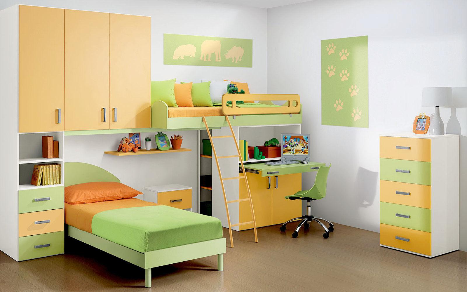 Camerette per bambini su misura firenze