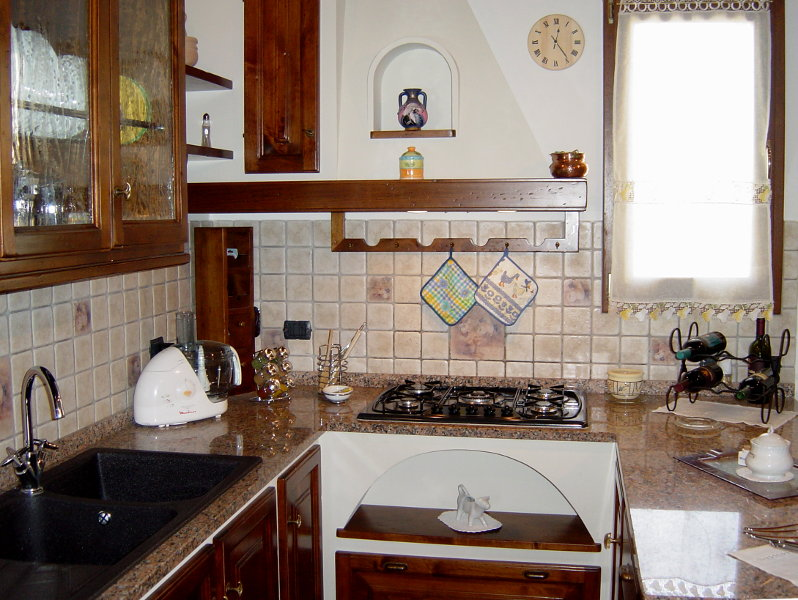 Cucina In Finta Muratura (PP-CFM007)