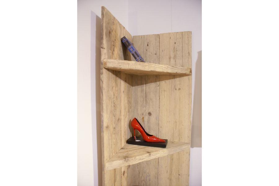 Angoliera in legno di recupero (XN-ANG001) - Mobili su misura a ...