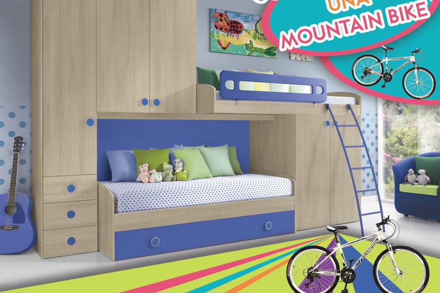 Camerette Con Regalo: Acquista Una Cameretta Per Bambini E Avrai In Omaggio Una Bicicletta Mountain Bike