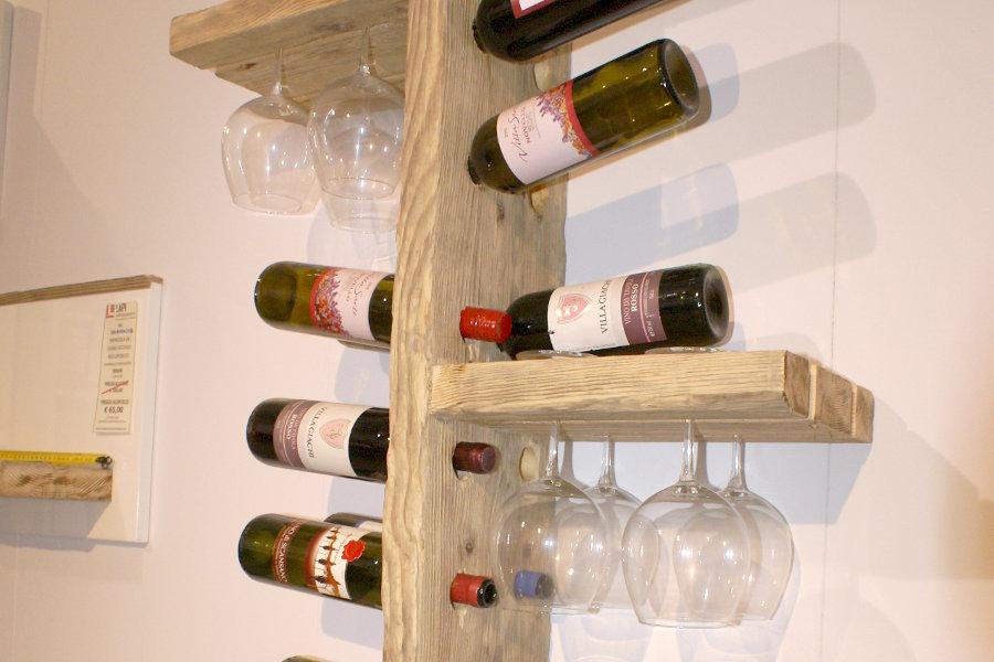 Cantinetta in legno di recupero xn can001 mobili su for Arredo di recupero