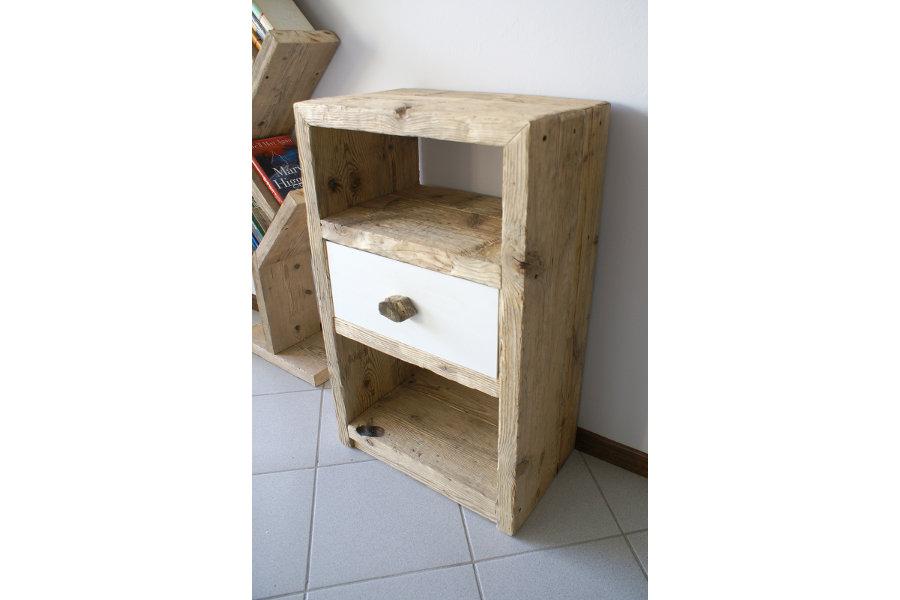 Consolle su misura in legno di recupero (XN-CON003)