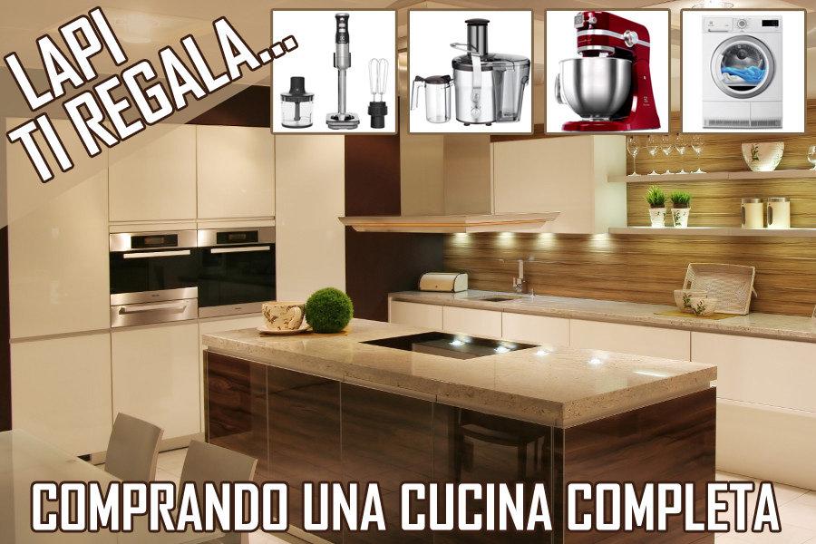 cucina con elettrodomestici - Mobili su misura a Firenze - Lapi ...