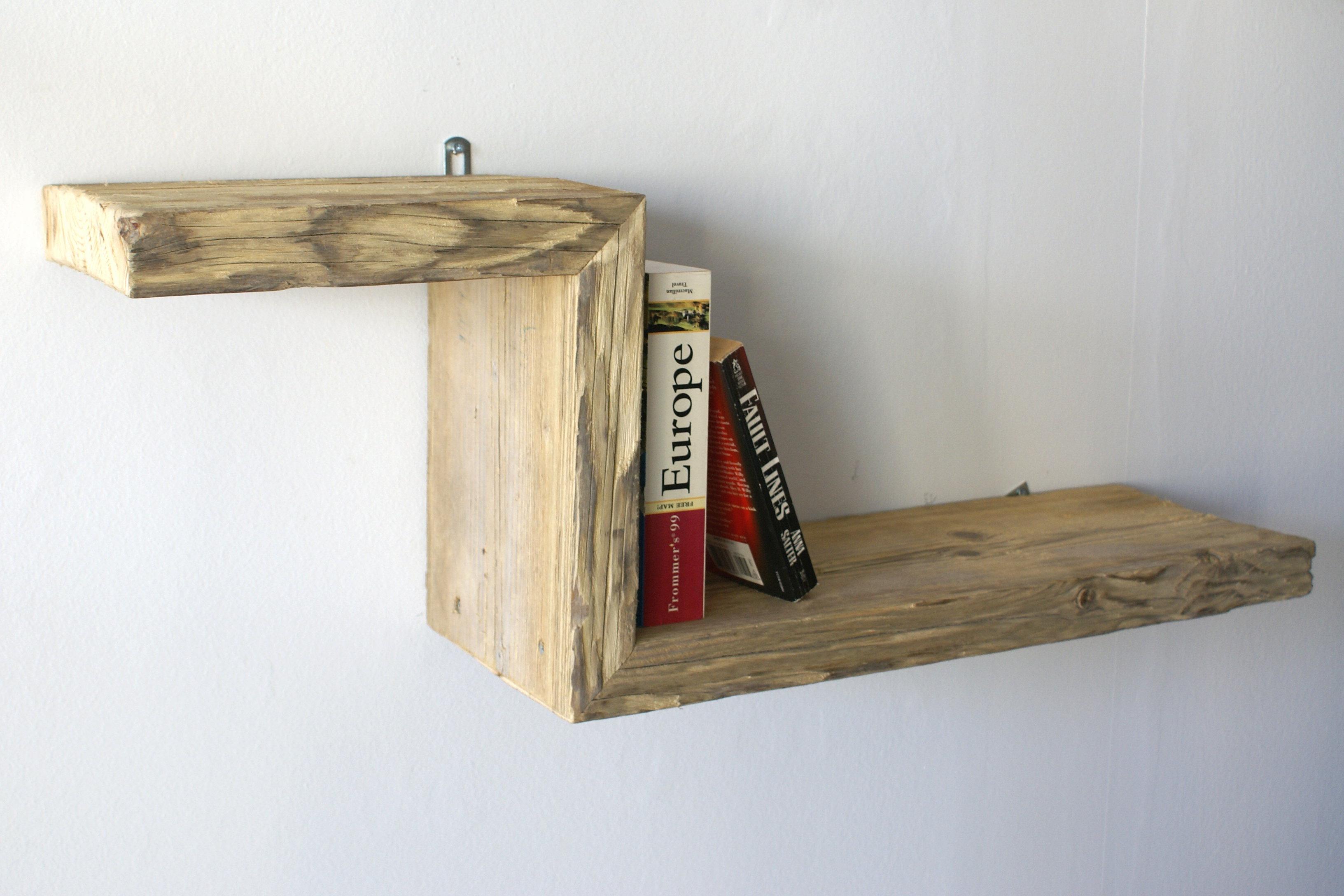 il legno di recupero nella realizzazione dei mobili - mobili su ... - Mensole Con Legno Vecchio