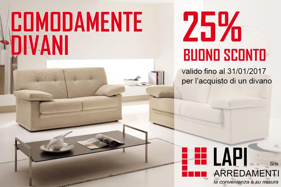 Divani in offerta con sconto del 25% - Mobili su misura a Firenze ...