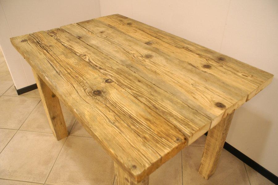 Tavolo legno di recupero fw61 regardsdefemmes - Mobili legno recupero ...