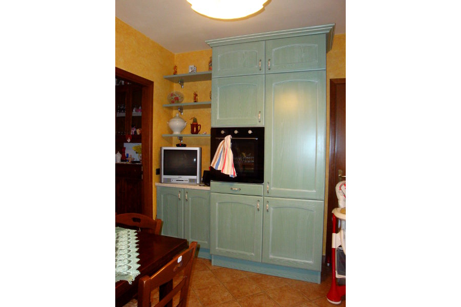 Cucina Classica Laccata Decapata (PP-CC008)