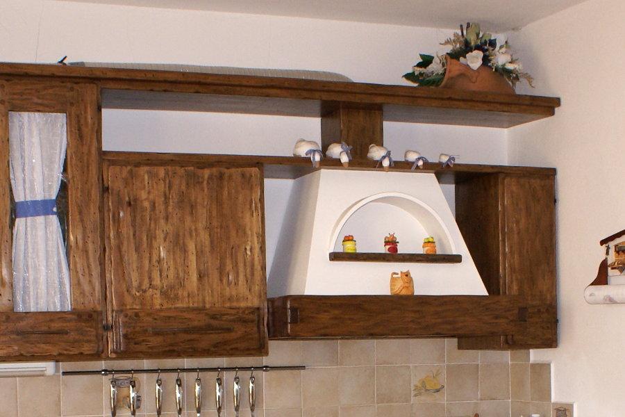 Cucina in finta muratura lineare pp cfm014 mobili su misura a firenze lapi arredamenti - Cappa cucina in muratura ...