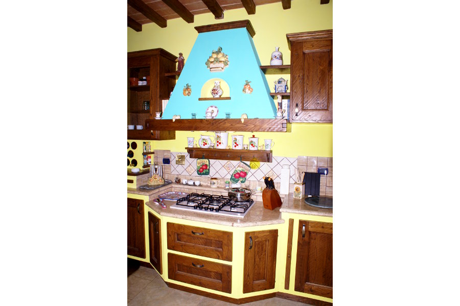 Cucina In Finta Muratura (PP-CFM012)