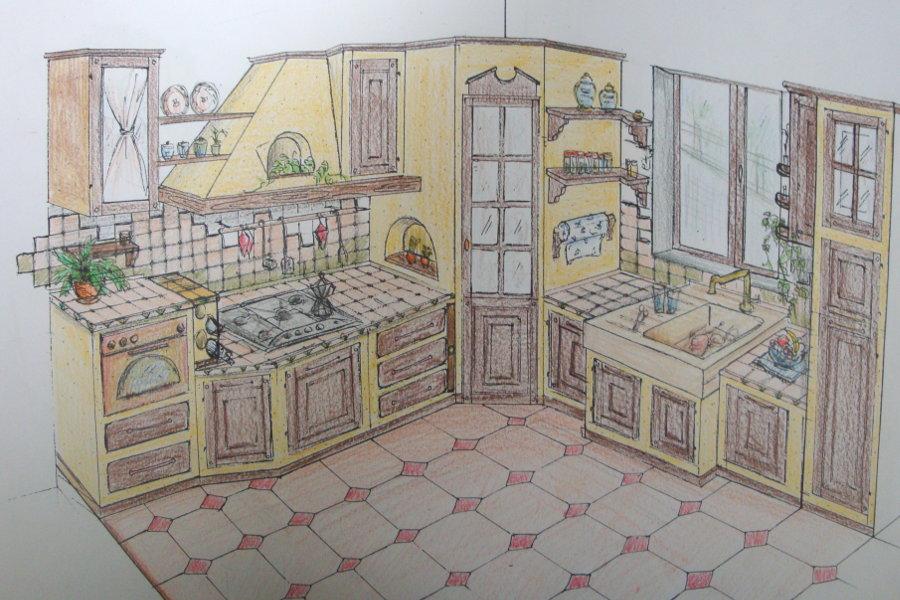 Disegno cucina elegant casa interno mobili stanza casa for Programma per comporre cucine