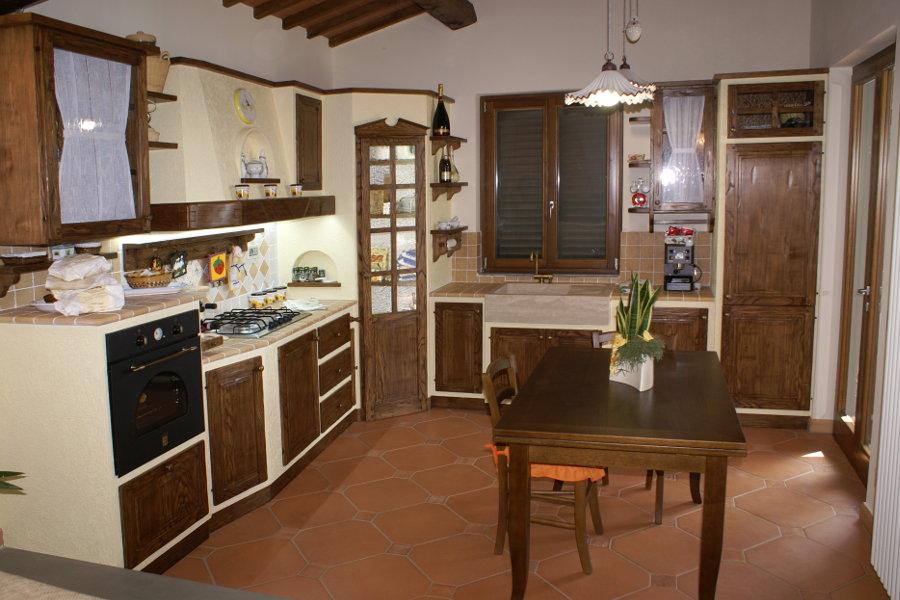 Cucina in finta muratura funzionalit caratteristiche e - Cucine in finta muratura ...
