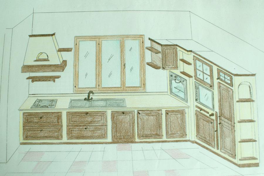 Disegni cucine in muratura simple cucine muratura moderna cucine moderne a progetti cucine in - Progetti cucina in muratura ...
