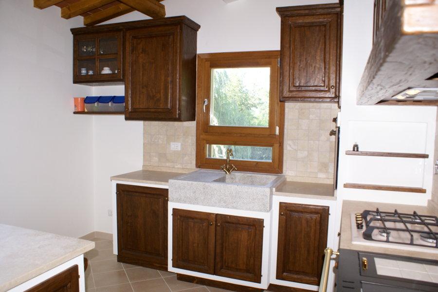 Cucina In Finta Muratura (PP-CFM017)