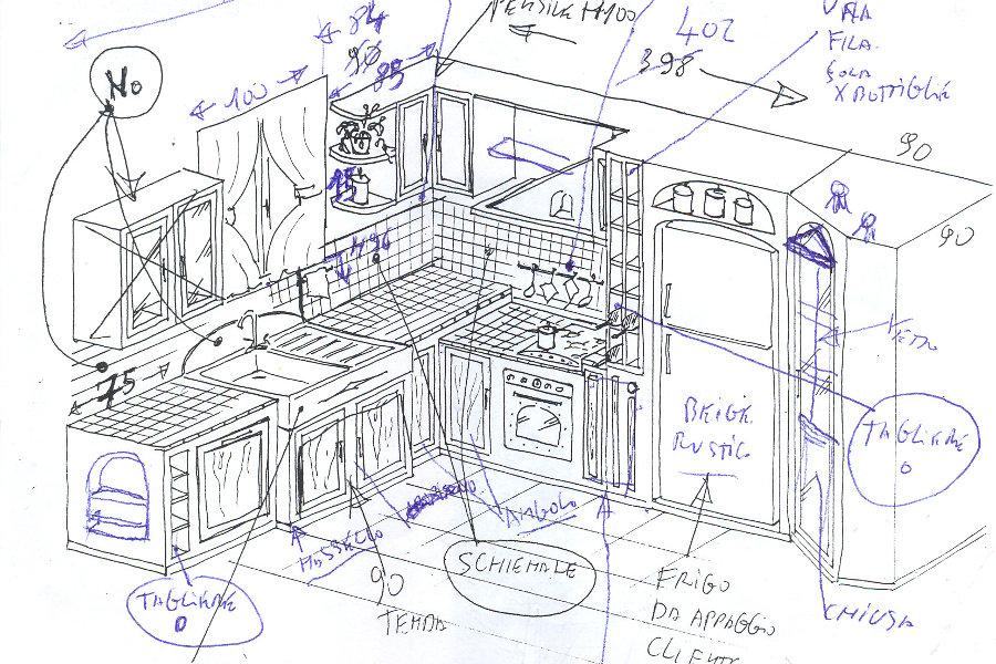 Best Disegni Cucine In Muratura Pictures - Ideas & Design 2017 ...