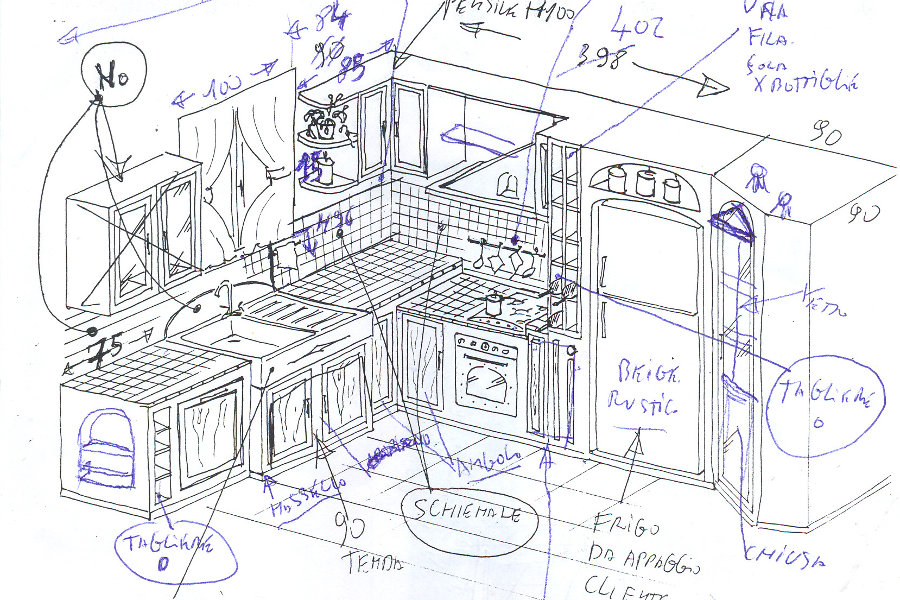 Beautiful Progettare Cucina In Muratura Pictures - Ideas & Design ...