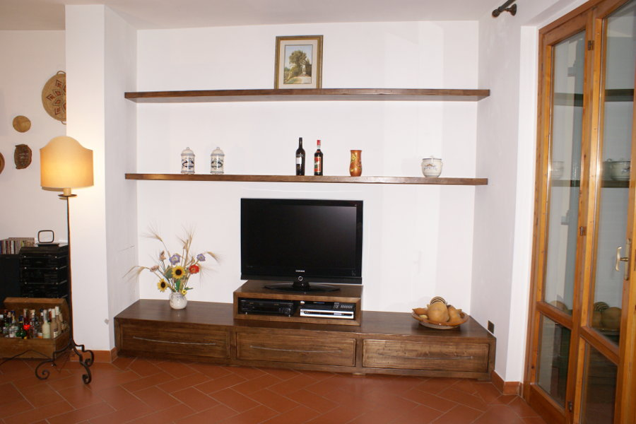 Mobile porta TV per soggiorno linea X-Wood (XW-SOG001) - Mobili su ...
