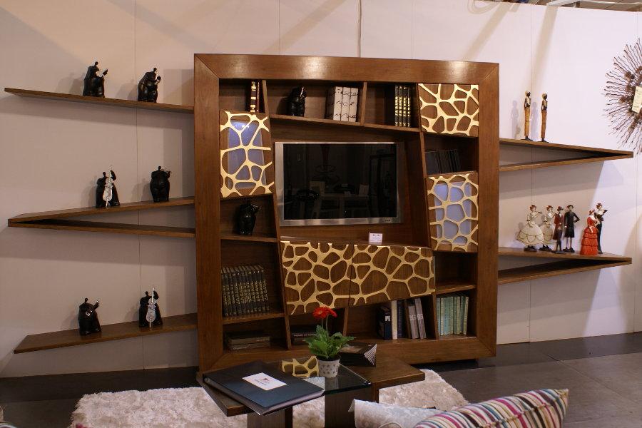 Soggiorno Libreria Linea X-Zigzag (XZ-LIB001)