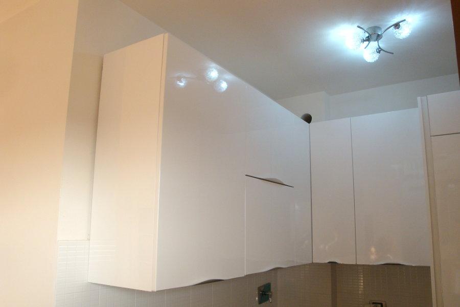 Cucina moderna con doppio angolo gc cuc010 mobili su - Cucina angolo moderna ...