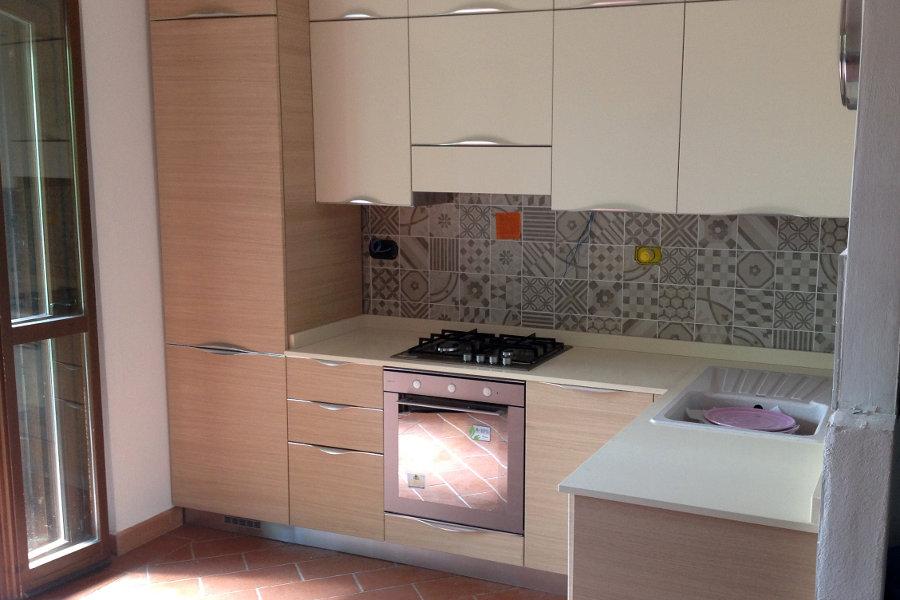 Cucina moderna in laminato gc cuc002 mobili su misura a firenze lapi arredamenti - Laminato in cucina ...