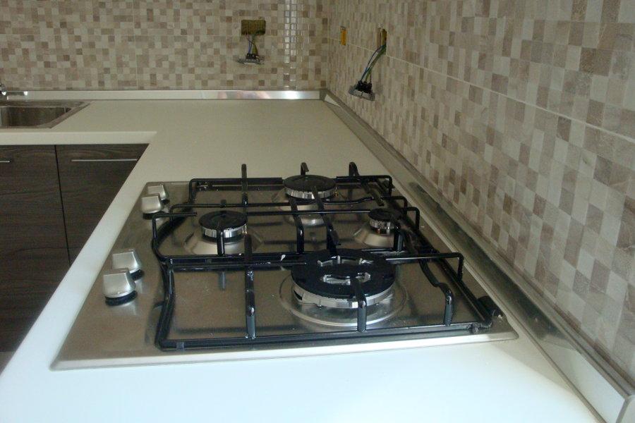 Cucina moderna in laminato gc cuc006 mobili su misura a firenze lapi arredamenti - Piano cucina laminato ...
