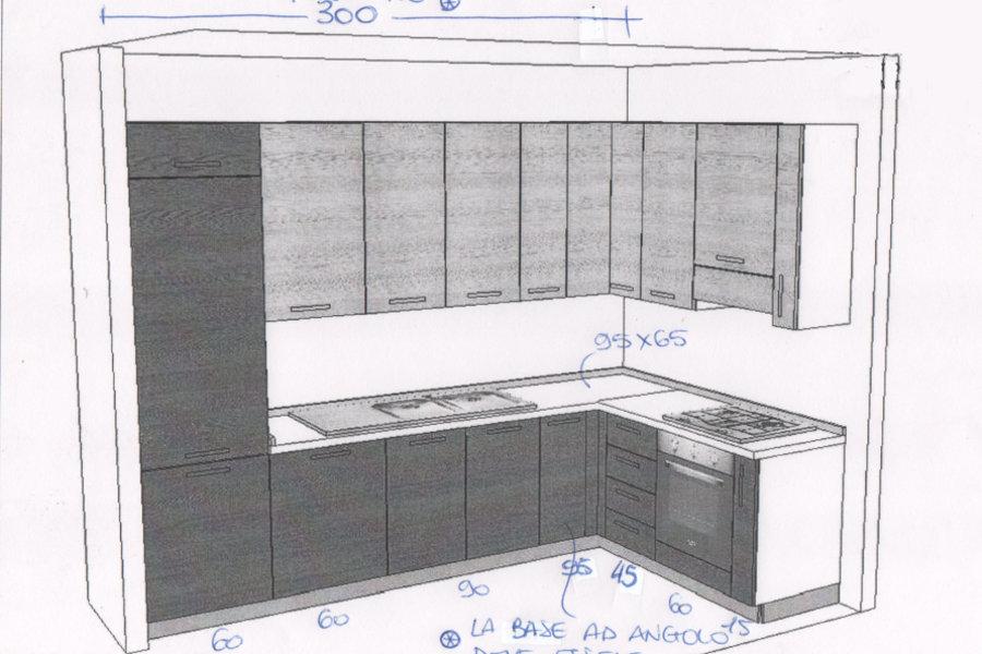 Trendy cucina moderna in laminato gc cuc u disegno with disegni cucina - Colorare piastrelle cucina ...