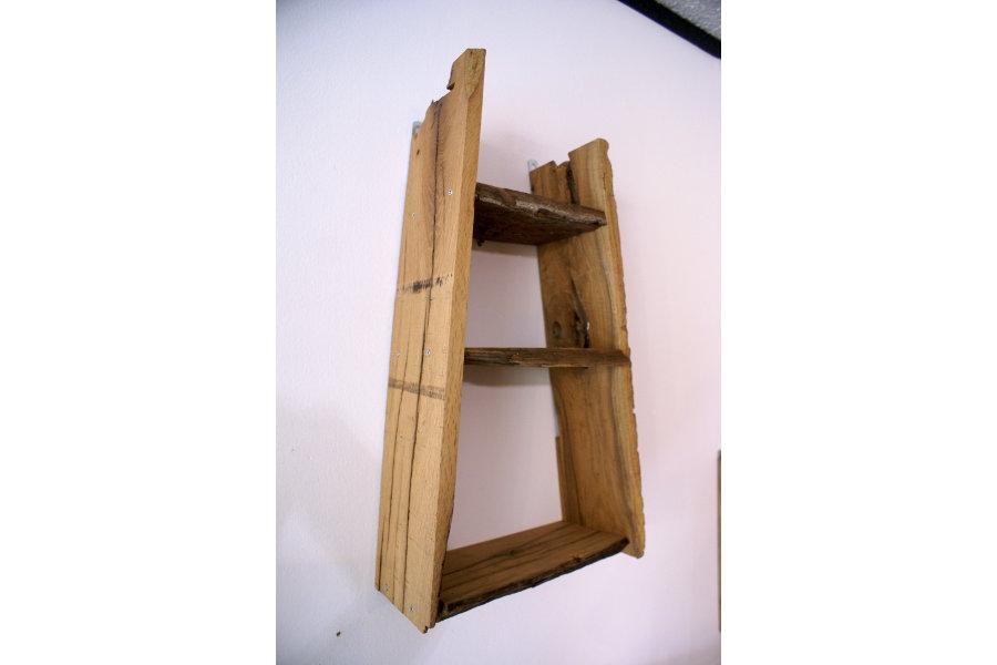 Mensola in legno di recupero xn men008 mobili su - Mobili legno recupero ...