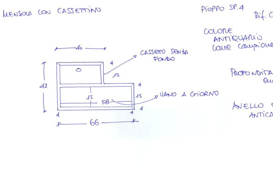 Pensile Porta Oggetti (PP-VAR012)