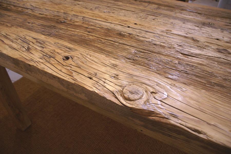 Tavoli Con Legno Di Recupero : Tavolo in legno di recupero xn tav mobili su misura a