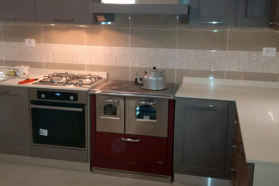 Cucina in legno di recupero e acciaio xt cuc002 mobili su misura a firenze lapi arredamenti - Mobili cucina su misura ...