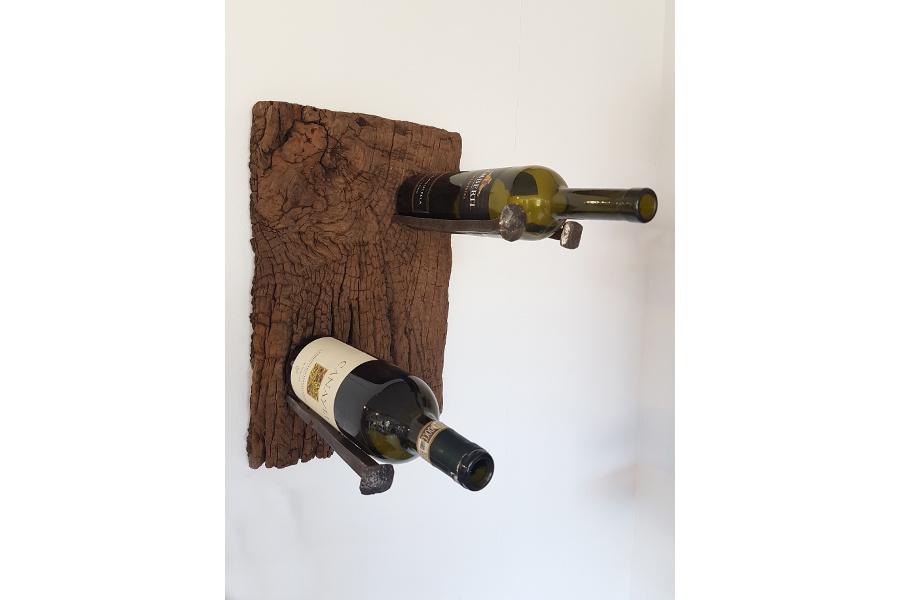 Portabottiglie in legno di recupero e chiodi xn can005 for Chiodo arredamenti