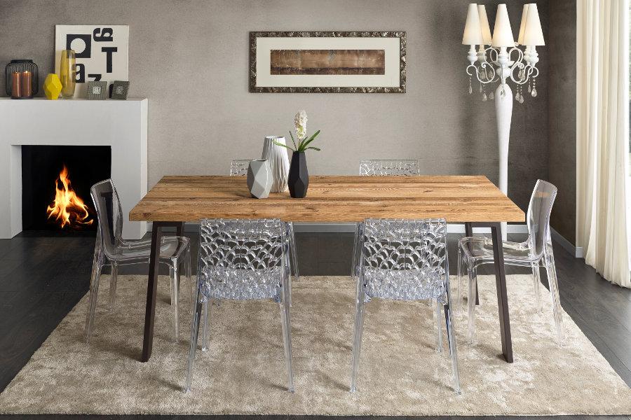 Tavoli e sedie moderni mobili su misura a firenze lapi for Tavolo con sedie moderno