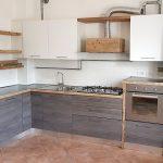Cucina In Legno Di Recupero E Tuni In Acciaio XT-CUC004