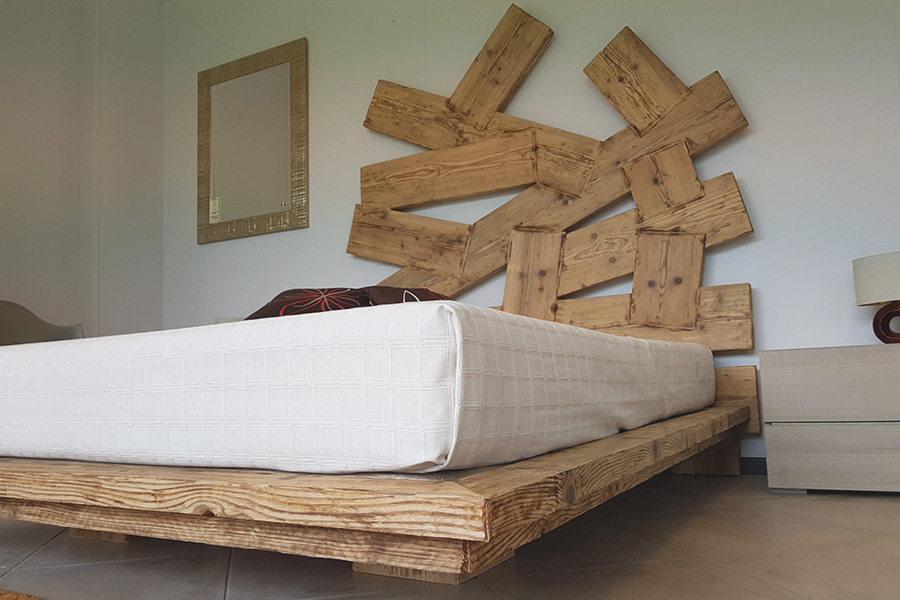 Testata letto in legno naturale come nasce una nuova idea di