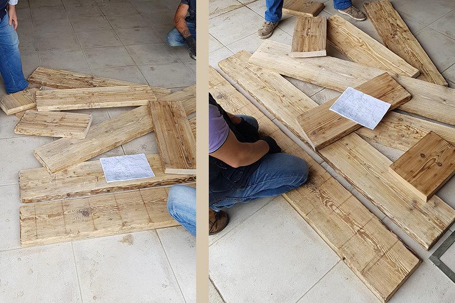 Testata letto in legno naturale come nasce una nuova idea di arredo mobili su misura a - Testata letto in legno ...