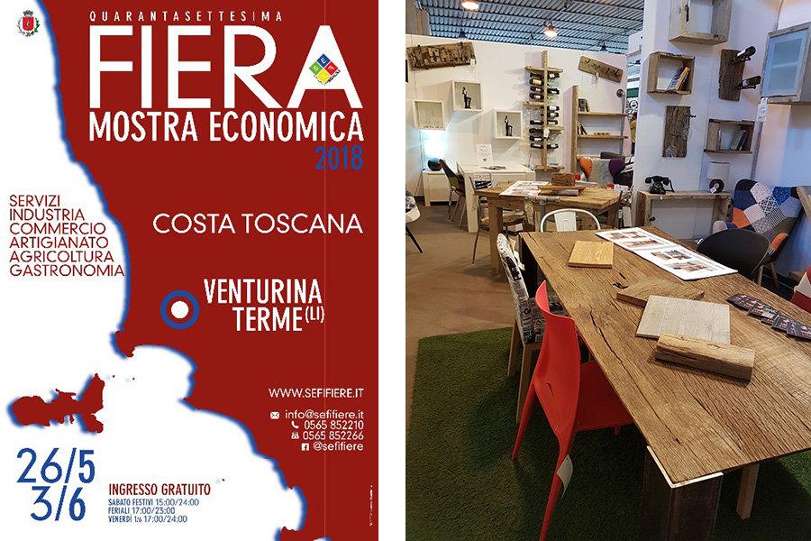 Promozione Fiera Mostra Costa Toscana Venturina 2018