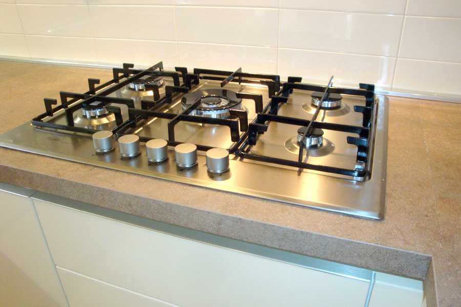 Cucina Moderna Con Penisola (GC-CUC005)