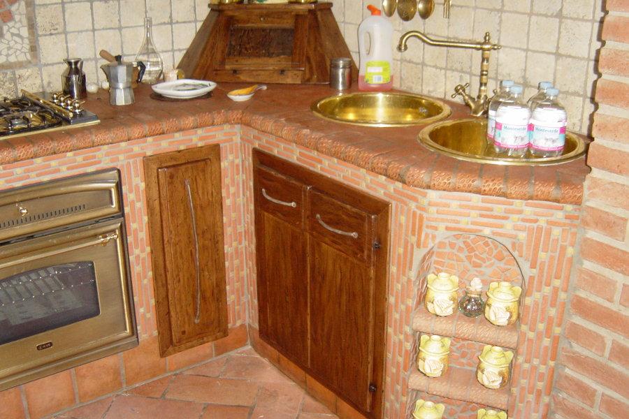 Cucina In Vera Muratura (PP-CM001)