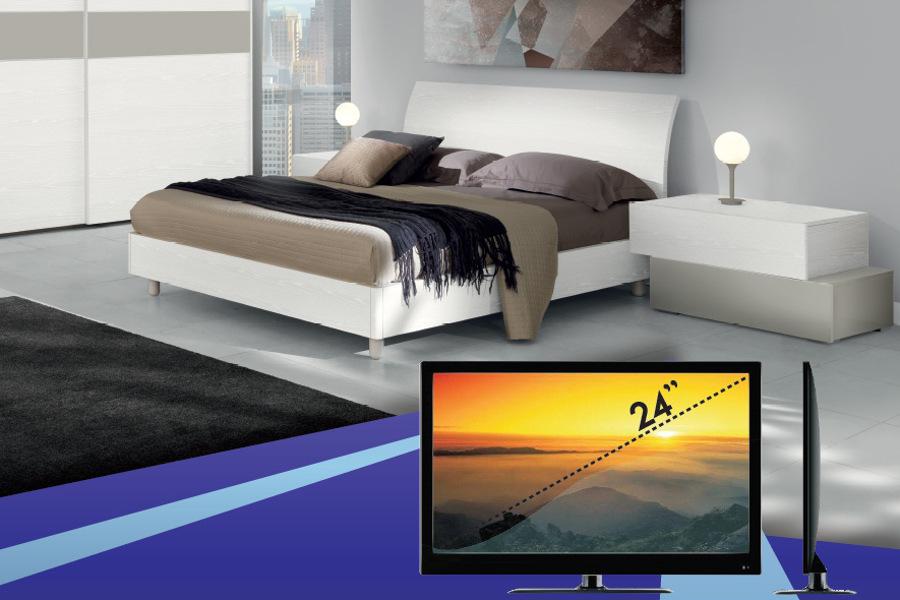 Camera Con TV In Regalo