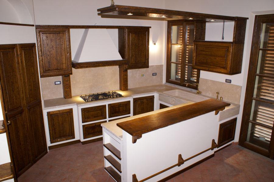 Cucine in Finta Muratura - Mobili su misura a Firenze - Lapi Arredamenti