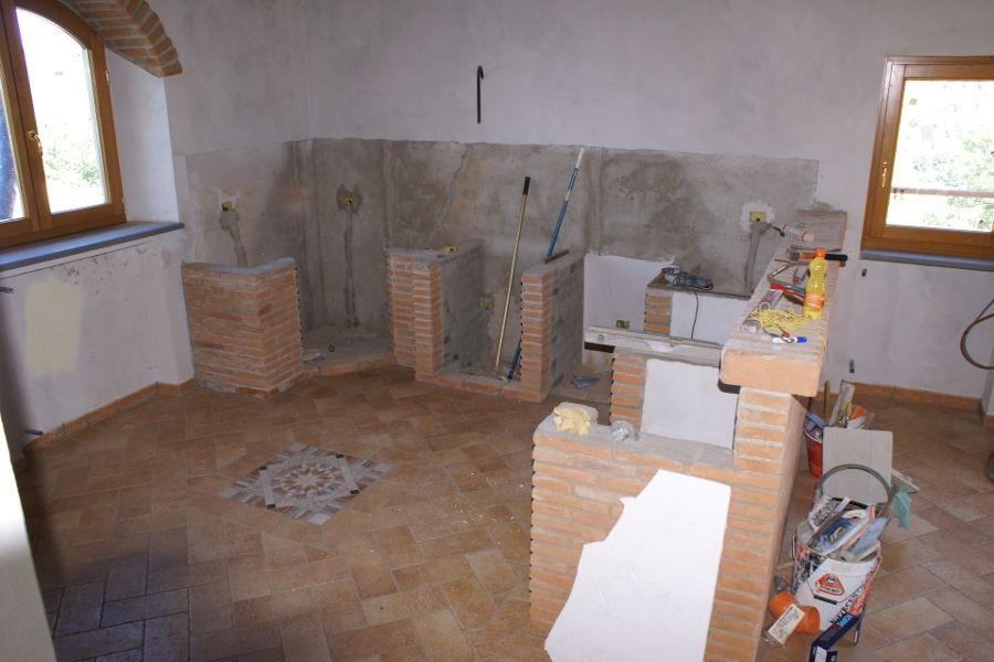 Cucina In Vera Muratura (PP-CM003)
