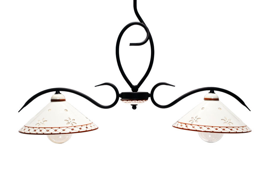 Lampadario in ceramica (EUR-LAMP003)