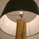 Lampada In Legno Di Recupero (XN-LAM001)