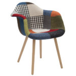 Poltroncina In Tessuto Patchwork (ZFLF446)
