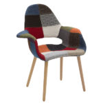 Poltroncina In Tessuto Patchwork (ZFLF448)
