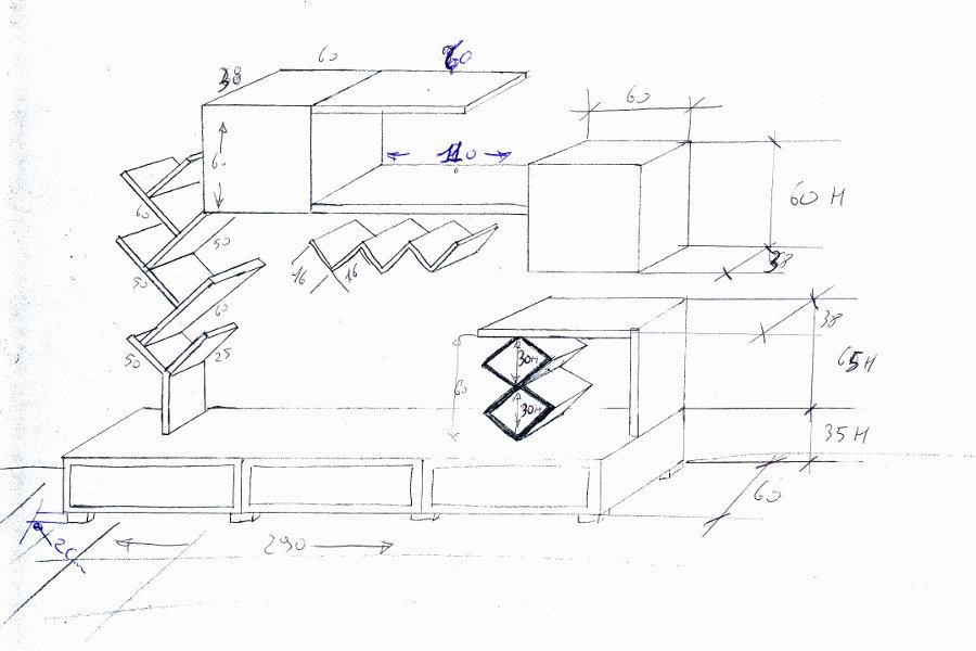 Soggiorno Creativo Linea X (XSI-SOG001)