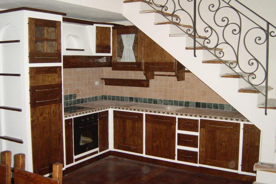Cucina in finta muratura (PP-CFM005)