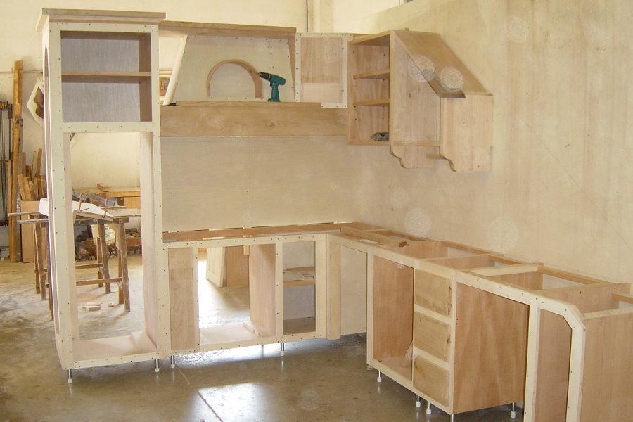 Cucina in finta muratura (PP-CFM005) - Mobili su misura a Firenze ...