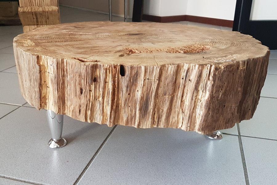 Tavolino In Legno Di Recupero (XN-TAV008)