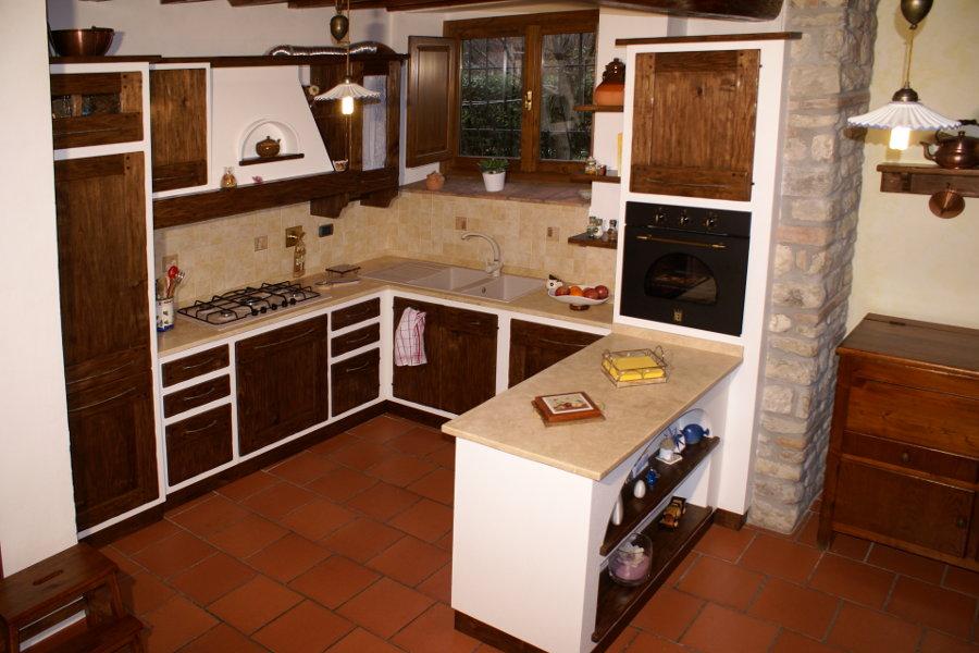 Cucina in finta muratura (PP-CFM025)